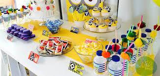 Kara's Party Ideas Minions Themed Birthday Party {Planning, Decor, Ideas,  Cake, Idea}