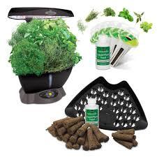 aero garden com. Miracle-Gro AeroGarden Classic 6 Smart Garden Plus BONUS Seed Starting System Aero Com