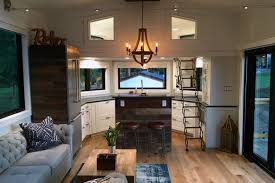 Small Picture Projector screen Love it A stunning tiny house on wheels by Tiny