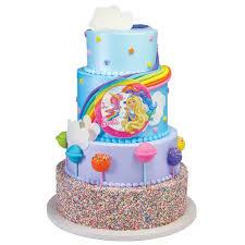 Barbie Dreamtopia Photocake Image Stacked Cake Decopac