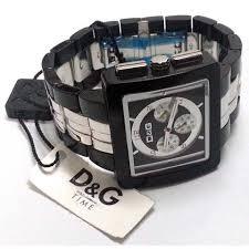 dolce gabbana cream chrono black white mens quartz watch dolce gabbana cream chrono black white mens quartz watch dw0059