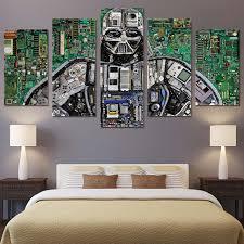 Online Shop wall art canvas painting <b>5 piece HD print</b> robot internal ...