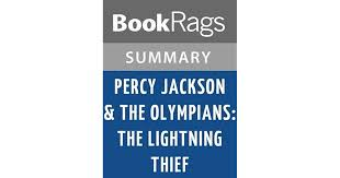percy jackson the olympians the lightning thief by rick riordan l summary study guide by bookrags