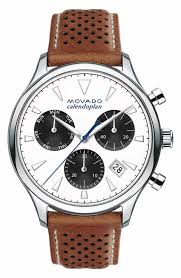 men s white watches watches for men nordstrom movado heritage chronograph leather strap watch