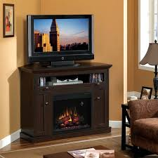 corner electric fireplace dual entertainment mantel and electric fireplace insert