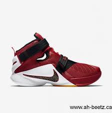 lebron shoes 2017. 2017 american nike men\\\u0027s zoom lebron soldier 9 university red/team shoes