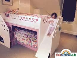 childrens beds with slides. Customer Photos - Bunk Beds Kids Funtime Childrens With Slides E