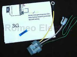 ford 3g alternator conversion harness connector 1 wire • 13 30 ford 3g alternator conversion harness connector 1 wire