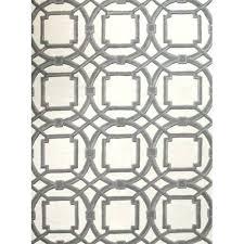 ivory wool rug 9x12 grey hand tufted gray area evoke global views arabesque