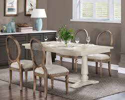 Image Interior White Farmhouse Pedestal Table From Overstock Pinterest Farmhouse Dining Room Decor Ideas Dining Room Pinterest Dining