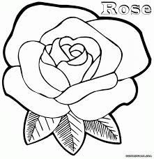 Small Picture Download Coloring Pages Rose Coloring Pages Rose Flower Coloring