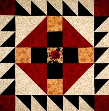 24 best Block of the Month images on Pinterest   Quilt patterns ... & Prickly Pear Quilt block by Linda Long! Adamdwight.com
