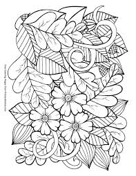 Fall coloring sheets are a perfect activity for kids during the harvest season. Fall Coloring Pages Ebook Leaves And Acorns Tsgos Com