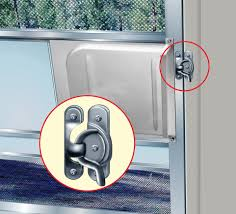we have enjoyed rving for more than 40 years but have always wondered why rv screen doors come without a secure lock we often leave the main door open to