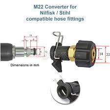 nilfisk compatible hose quick connector