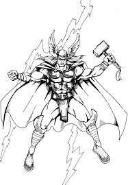 Small Picture Thor Coloring Pages Coloring Pages Kids