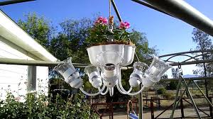 full size of how to make glowing solar chandelier planter for the garden shades home depot