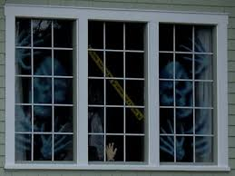 apartment window from outside. Simple From Turn Your Apartment Into A Haunted House  Window Decorations Inside From Outside W