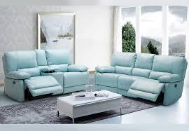 a maui light blue power reclining