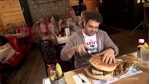 Image result for man vs food burger