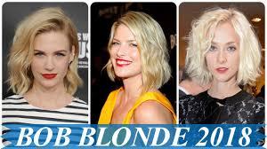 Aktuelle Blonde Bob Frisuren 2018 Youtube