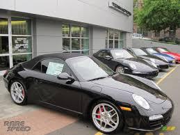 2010 Porsche 911 Carrera S Cabriolet in Basalt Black Metallic ...