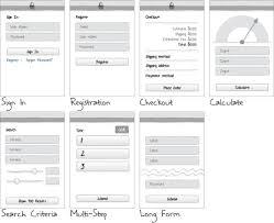 Web Design Patterns Form Design Patterns Mobile Design Patterns Pattern
