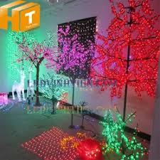 Cây hoa đèn led 1.5m ánh sáng đỏ giá rẻ, loại tốt. Ledvinhtien.com