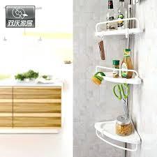 standing bathroom shelf bathroom shelves with towel bar hooks stainless steel standing type shelf space saver standing bathroom shelf