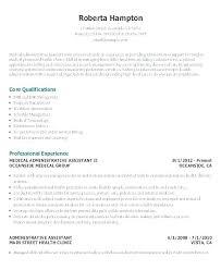 Hotel Front Desk Resume Samples Office Resume Samples Medical Assi Resume Sample Examples Of