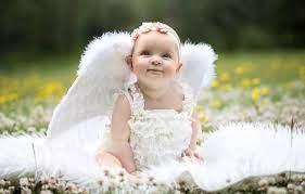 Wallpaper wings, angel, girl, baby ...