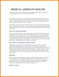 15 Medical Resume Templates Emails Sample