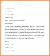 termination letter template business lease termination letter lease termination agreement