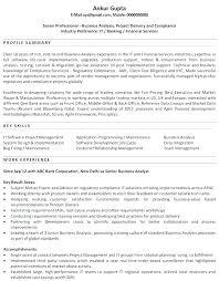 Sample Resume Profile Summary Headline Summary Of Resume Sample