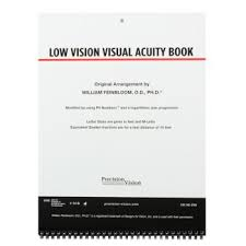 Low Vision Visual Acuity Book