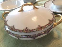 limoges elite works patterns dinnerware set esquimalt view royal victoria