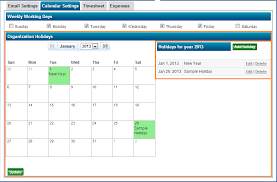 Project Calendar Holiday Settings In Zilicuspm Zilicus Blog