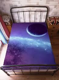 space galaxy bedding