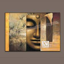 wholesale large canvas prints artwork of buddha oil painting on canvas wall art decor canvas picture on giant wall poster art print with wholesale large canvas prints artwork of buddha oil painting on