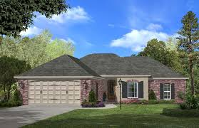 3 bedroom 1500 sq ft ranch plan with master bathroom