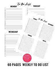 200 To Do List Printable Pdf Bundle For Teachers