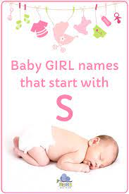 baby names that start with s