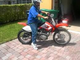 cesar laborde 200cc shinray dirt bike youtube