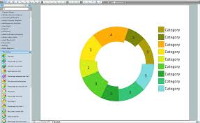 What Is Difference Between Chart And Graph Donut Chart Templates Pie Chart Software Pie Donut Chart