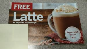 tim hortons hot tim hortons free latte or hot beverage coupon with purchase
