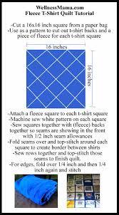 How to Make a T-Shirt Quilt | Wellness Mama & t-shirt quilt tutorial pattern fleece back easy cheap Adamdwight.com