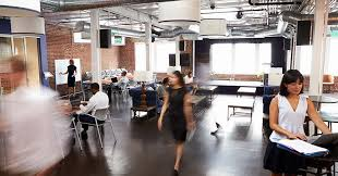shared office space design. Collaborative Shared Office Space With Busy Coworkers Design