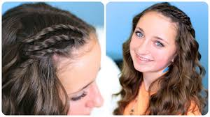 Pretty Girl Hair Style triple lace side twists cute girls hairstyles youtube 3771 by wearticles.com