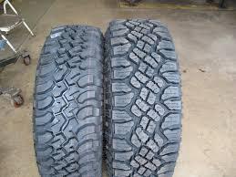 Tire Sizes Goodyear Wrangler Tire Sizes