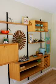 ... Danish Modern Bookcase Mid Century Modern Horizontal Bookcase Shelf  Units Shelving Units: outstanding ...